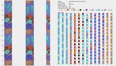 Узоры для вязаных жгутиков-шнуриков 13. | biser.info - всё о бисере и бисерном творчестве