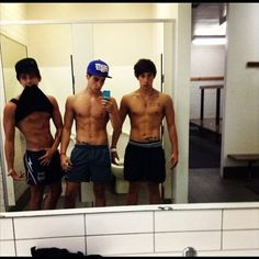I just want to take a moment and thank the Brooks parents and God for making such fine brothers.