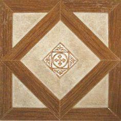 "Dynamix Vinyl Tile 12"" x 12"" Luxury Vinyl Tiles in Madison Woodtone/Stone"
