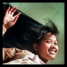 #me #girl #longhair