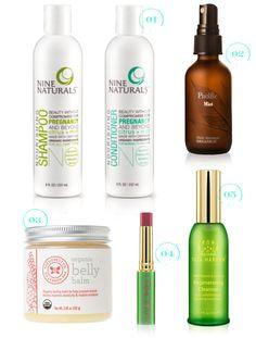 organic pregnancy beauty essentials...