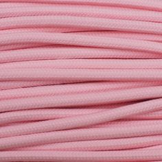 Baby Pink is a Mr Paracord Exclusive. This Baby Pink is a great shade of paracord. Smooth as a babies bottom!