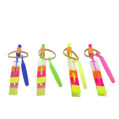 50 pieces/Lot Slingshot LED Copter Lighting up Toy Led Arrow Helicopter Flying Rocket Helicopter Flying Toy Fun Gift