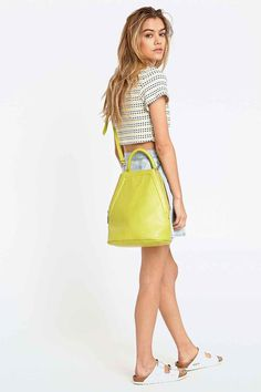 Shop Matt & Nat Lucy Cross-Body Bag in Lime at Urban Outfitters today. Color Pop App, Colour, Recycle Plastic Bottles, Cross Body, Fashion Forward, Urban Outfitters, Sunshine, Lime, Crossbody Bag
