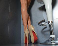 Sexy Luxus Plateau High Heels Damenschuhe Spitze Party Pumps Schwarz Beige Blau | eBay