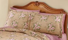 Bella Floral Quilted Pillow Sham