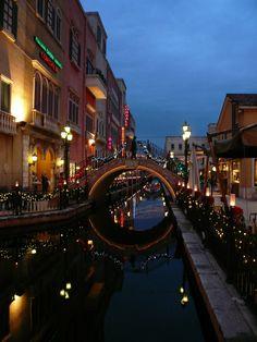 名古屋港イタリア村の夜景