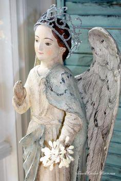 Reproduction Papier Mâché Angel