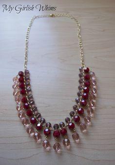 DIY Necklace - lovely lovely!