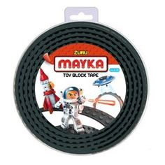 Superb Mayka Toy Block Building Tape Large Stud 2 Metre) - Black Now at Smyths Toys UK. Toys Uk, Building Toys, Tape, Toy Block, Kawaii Dress, Products, Brick, Objects, Surface