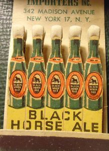 Matchbook Black Horse Ale Canada Beer Full Feature | eBay