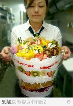 Mmmmm, time for dessert!!!