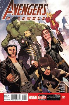 Avengers Assemble #25 cover