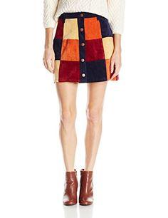 MINKPINK Women's Mix It Up Patchwork A-Line Skirt, Multi, X-Small MINKPINK http://smile.amazon.com/dp/B013XHU6FU/ref=cm_sw_r_pi_dp_lTBxwb0A3240A