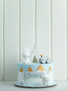 Getting Your Family Involved In Home Improvement Projects – Live Like Home Baby Boy 1st Birthday Party, Baby Birthday Cakes, Baby Boy Cakes, Cakes For Boys, Baby Shower Cakes, Miffy Cake, 1st Year Cake, Cloud Cake, Home Improvement Show