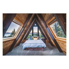 Tiny House Goals!! #tinyhouse #goals #dreams #country #windows #bedroom #vaultedceiling by mrsdoohenwork