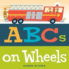 The alphabet hits the road in this vividly illustrated picture book featuring all things that go! Buckle up for an alphabetical road trip in Ramon Oliveras ABCs of Wheels ! In this book, kids will lea