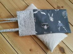 stinla - selbstgemacht Korn, Baby Kind, Throw Pillows, Tote Bag, Bags, Super, Woodland Creatures, Fabric Remnants, Bags Sewing