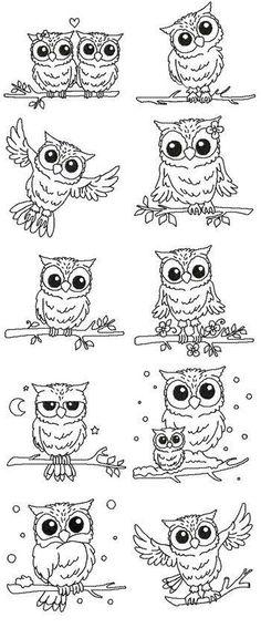 Tattoo Finka Owl