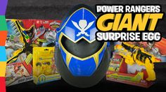 Power Rangers Toys Play-Doh Surprise Egg with Mighty Morphin Super Megaf...