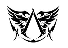 A tattoo for the assassins creed, I'm thinking of getting this on my forearm. Haven't decided yet.