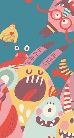Minimal Wallpaper, Pop Art Wallpaper, Aesthetic Pastel Wallpaper, Kawaii Wallpaper, Tumblr Wallpaper, Colorful Wallpaper, Pattern Wallpaper, Owl Wallpaper Iphone, Homescreen Wallpaper