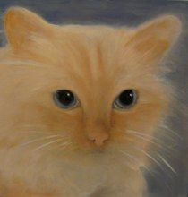 Painting of Kevin's cat