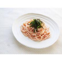 クミタス レシピ 明太子の米粉スパゲッティ