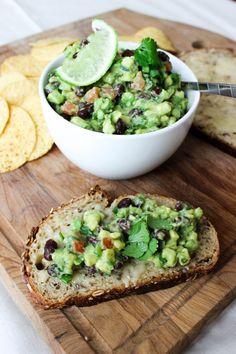 spiced black bean guacamole! Get ready for summer ya'll