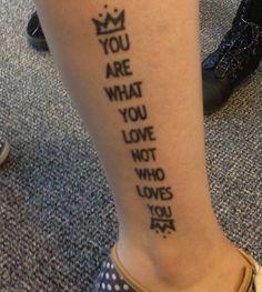 Never Take Friendship Personal Tattoo