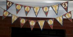Western / Cowboy Themed Happy Birthday  Banner by APaperPlayground, $22.50