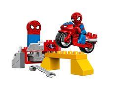 #LEGO DUPLO Spider-Man Web-Bike Workshop 10607 #Spiderman #Toy #gifts