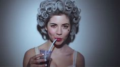 """marina & the diamonds' new music video for """"primadonna,"""" single of upcoming summer album """"electra heart."""" lovin' the old-school film filter and vintage looks. Marina And The Diamonds, Kinds Of Music, Music Love, New Music, Music Music, Yoonmin, Katy Perry, Electra Heart, Fear Of Love"""