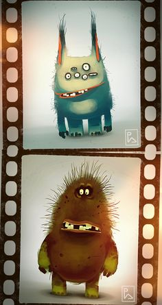 character design, monsters