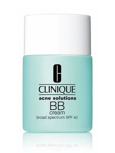 The Best Acne-Fighting Makeup. Clinique Acne Solutions BB Cream #acne #makeup #skin
