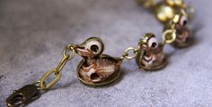 This awesome animal anatomy jewellery is handmade... at Geeky Merch