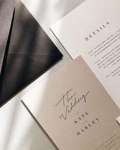 """ALIVIA"" – Customizable Letterpress Wedding Invitations in Blue by Melanie Kosuge. Minimalist Wedding Invitations, Letterpress Wedding Invitations, Wedding Invitation Design, Wedding Stationary, Invites, Invitation Cards, Minimalist Invitation, Modern Wedding Stationery, Luxury Wedding Invitations"