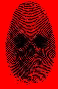 Fingerprint Skull