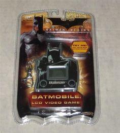 FACTORY-SEALED-2005-DC-COMICS-BATMAN-BEGINS-BATMOBILE-LCD-VIDEO-GAME-MIP-UNUSED Batman Begins, Comic Games, Batmobile, Dc Comics, Video Game, Lunch Box, Bento Box, Video Games, Videogames