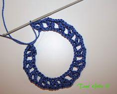 TANT GRÖN: Virka en midsommarkrans Crochet Necklace, Crochet Patterns, Crocheting, Jewelry, Crochet, Jewlery, Jewerly, Crochet Pattern, Schmuck