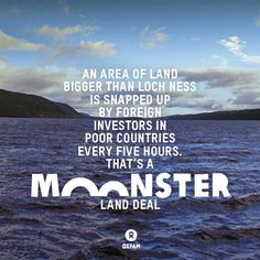 Land grabs