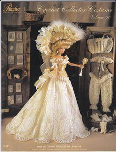Paradise Crochet Collector Costume Vol 70 for Barbie von 2rivers