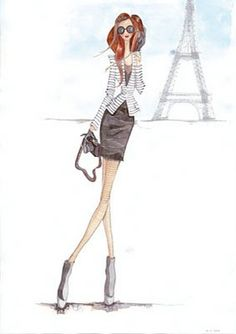 @Andy Torres #illustrators #fashionblogger #fashion #sketch