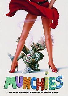 Once again it is Bad Movie Monday!  This week we have Munchies. This Rodger Corman Gremlins knockoff was one of my favorite little monster movies as I grew up in the 80's. Sadly this film hasn't been released on DVD yet, and there is no sign of it ever happening. If you ever find it on TV or on VHS, I suggest it is worth a watch, even if just for the random Gremlins jokes. (Plus  Star Trek Voyager's Doctor (Robert Picardo) Cameos!