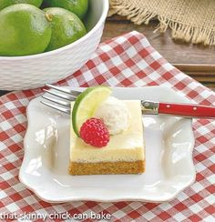 Key Lime Pie Bars | Citrus heaven in every bite!