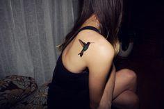 Inkwear temp hummingbird #tattoo