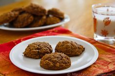 Lower-fat Pumpkin Cookies