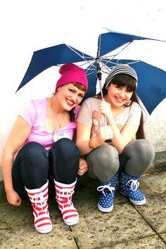 Stars and stripes for the rain boots ! Stelle e strisce per gli stivali da pioggia !