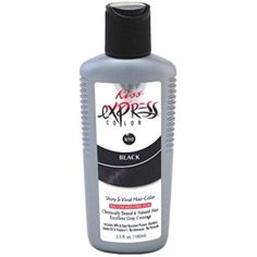 Kiss Express Color Semi- Permanent Black 3.5oz (3 Pack) >>> Check this awesome product by going to the link at the image. (This is an affiliate link and I receive a commission for the sales) #HairColor