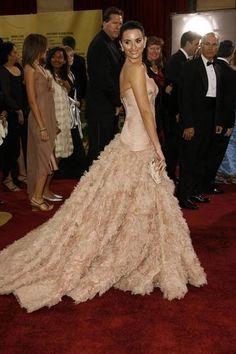 Penelope Cruz in Versace, 2007.  Photo: Chris Polk/FilmMagic